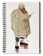 Surgeon: Caricature, 1906 Spiral Notebook