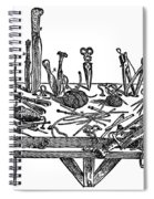 Surgical Instruments, 1567 Spiral Notebook