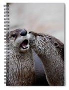 Surprise Kiss Spiral Notebook