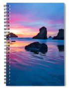 Surprise Sunset Spiral Notebook