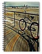 Surreal Boardwalk  Spiral Notebook