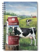 Surreal Cow Spiral Notebook