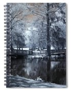 Surreal Dreamy Fantasy Nature Infrared Landscape - Edisto Park South Carolina Spiral Notebook