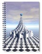 Surreal Fractal Tower Spiral Notebook