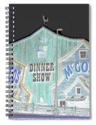 Surreal Hatfields And Mccoys  Spiral Notebook