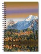 Surreal Landscape-hdr Spiral Notebook