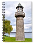 Surreal Lighthouse Spiral Notebook