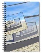 Surreal Monitors Infinite Loop Spiral Notebook