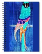 Surreal Parrot Spiral Notebook