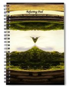 Surreal Reflecting Pool Spiral Notebook