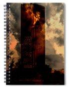 Surreal Sky Scraper Spiral Notebook