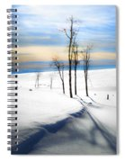 Surreal Snowscape Spiral Notebook