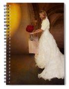 Surreal Wedding Spiral Notebook