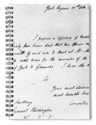 Surrender At Yorktown Spiral Notebook