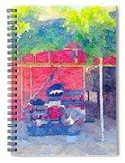 Surrey Spiral Notebook