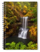 Surrounded By Fall Spiral Notebook