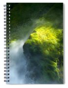 Surrounded By Mist Spiral Notebook