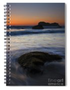 Surrounded By The Tide Spiral Notebook
