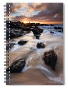 Surrounded By The Tides Spiral Notebook