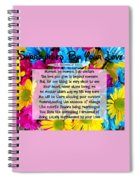 Surrounded By Your Love Spiral Notebook