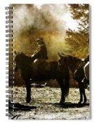 Surveying War's Fallen D0396 Spiral Notebook