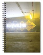 Survivalism Sign Spiral Notebook