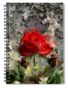 Survive The Storm Spiral Notebook