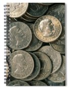 Susan B. Anthony Dollar Spiral Notebook