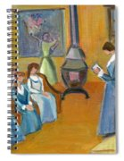 Susan B. Anthony Teaching In Canajoharie Spiral Notebook