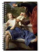 Susanna And The Elders, 1751 Spiral Notebook