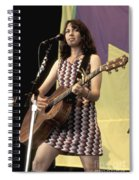 Susanna Hoffs Spiral Notebook