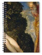 Susannah And The Elders Spiral Notebook