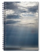 Suspended Between Heaven And Earth Spiral Notebook
