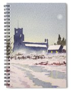 Suzan's Church Painting  Spiral Notebook
