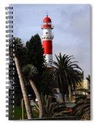 Swakopmund Lighthouse - Namibia Spiral Notebook