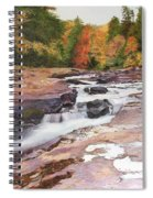 Swallow Falls Spiral Notebook