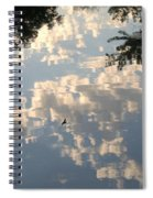 Swallow Reflection Spiral Notebook