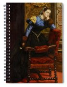 Swallow Swallow Spiral Notebook