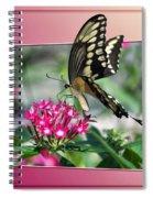 Swallowtail Butterfly 03 Spiral Notebook