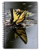 Swallowtail - Butterfly - Reflections Spiral Notebook