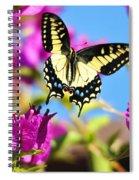 Swallowtail In Flight Spiral Notebook