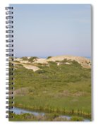 Swamp And Dunes Spiral Notebook