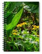 Swamp Bouquet Spiral Notebook