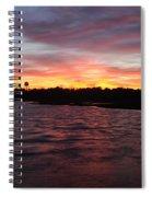 Swan River Sunset Spiral Notebook