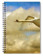 Swan Song Spiral Notebook