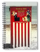 Swanage Punch And Judy Spiral Notebook