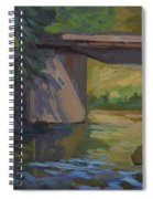 Swauk Creek Early Spring Spiral Notebook