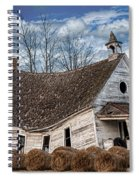 Sway Back School House Spiral Notebook