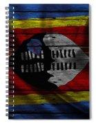 Swaziland Spiral Notebook