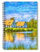Swedish Lakehouse Spiral Notebook